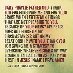 Daily Prayer Prayer For Work, Daily Prayer, Morning Blessings, Morning Prayers, God Prayer, Power Of Prayer, Bible Prayers, Angel Prayers, Prayer For Protection