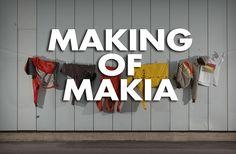 MAKING OF MAKIA, part 1: A brief history by Basso Media. Basso päätti syksyllä 2011 alkaa seuraamaan pientä suomalaista vaatebrändiä, Makiaa, sen omassa ympäristössä. Vajaan vuoden ajan kamerat vietiin sinne missä kulloinkin tapahtui. Syntyi neliosainen sarja: Making of Makia.