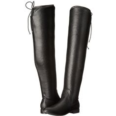 Chinese Laundry Rainey (Black Stretch) Women's Shoes ($100) ❤ liked on Polyvore featuring shoes, boots, over-the-knee boots, black boots, chinese laundry boots, thigh high boots, over-knee boots and over the knee boots
