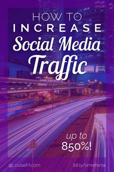 Social Media Marketing Tips for Small Business: Want more website and blog traffic? Learn what you can do to dramatically increase referral traffic from your social media platforms in this free tutorial. Click to blog to learn how!