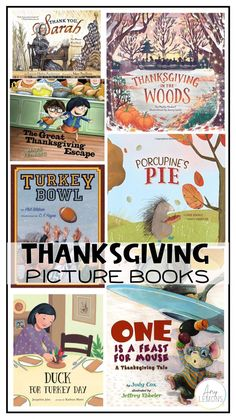 Thanksgiving Picture Books to read in the classroom or at home