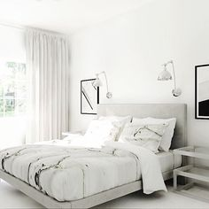 Currently working on this neutral serene bedroom e-design for a @decorilla client in Miami. So excited about this one What do you think?