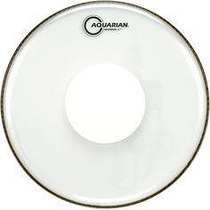 Aquarian Response 2 Power Dot Drumhead  16 in.