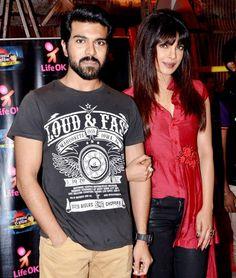 Ram Charan Teja with Priyanka Chopra