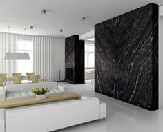 Agata used as a feature wall. WOW!