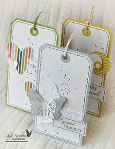 Crafting ideas from Sizzix UK: Clean&Simple Tags