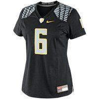 Nike Oregon Ducks Women's #6 Game Football Jersey. Needs to be a #9 soccer jersey! Go ducks!