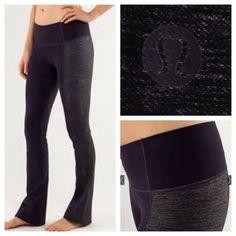"Lululemon Barre Pulse Pant I believe the color is violet denim/violet. Excellent condition/like new. Signature Luon fabric. 33"" inseam. 20"" hem sweep. No trades. No PayPal. lululemon athletica Pants"