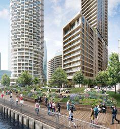 Imagen 6 de 7 de la galería de Aprueban construcción de futuro plan maestro de 30 rascacielos en Londres. Cortesía de Canary Wharf Group plc