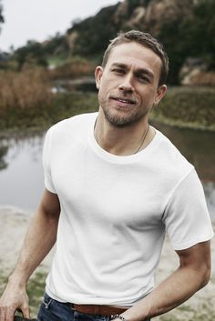 Charlie Hunnam for Men's Health April 2017, photographed by Brian Higbee