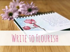 Hi all, I'm teaching my online journaling course—Write to Flourish: A Beginner's Guide to Journaling—in September. Registration closes at noon on September 10, 2017. If you've been thinking about t…