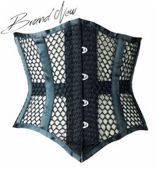 6fa52252e6 Brand New Black Mesh Underbust Corset by Vollers Corsets Lace Tights