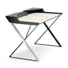 Cattelan Italia Qwerty stôl biely dym Pad 2 K dispozícii
