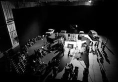 Los Angeles based photographer James Minchinn III has released these gorgeous black & white behind the scenes photos from the cult TV Show Mad Men. Scene Image, Scene Photo, Mad Men, Star Wars History, Top Photos, Sound Stage, Mad World, Men Photography, Man Images