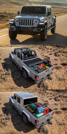 The Jeep Gladiator continues to be a phenomenal success for the off-road brand as it not only brings in rep. New Jeep Wrangler, Wrangler Rubicon, Jeep Wranglers, Jeep 4x4, Jeep Truck, Lifted Trucks, Pickup Trucks, Jeep Wave, Jeep Gladiator