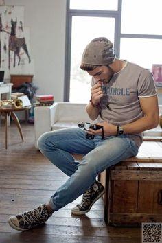 27. #portés en - Style #urbain s'accroche 39 sexy et chic masculin... → #Fashion Plus