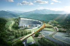 KHNP Headquarters_H Architecture_AERIAL VIEW