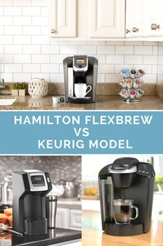 The Hamilton Flexbrew vs Keurig models could be an easy decision or a difficult one, depending on what you're looking for. Coffee Spoon, Coffee Art, Coffee Cups, Seaside Cafe, Coffee Around The World, Best Coffee Maker, Coffee Pictures, Coffee Culture, Frappuccino