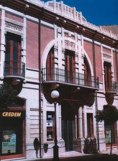 Palazzo Carfì, Liberty a Ragusa