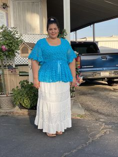 Veronica's Top made with La Abuela