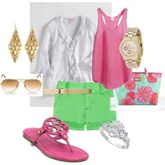 A cute summertime outfit.(: