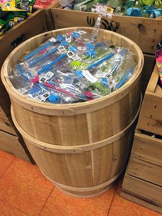 Just where is a good Back Scratcher when you need one? Try these Wood Barrel Bulk Binned Scratchers among the power aisle merchandising specials at Wegmans®. True they did not related to any other ...