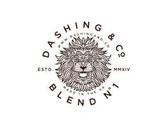 Dashing & Co. Lion Badge final
