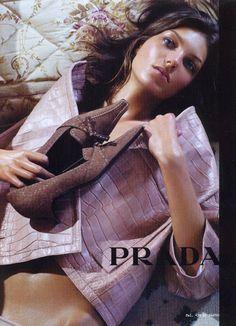 Daria Werbowy by Steven Meisel for Prada F/W 2003