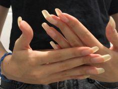 Long Natural Nails, Long Nails, Beautiful, Finger Nails, Cute Nails