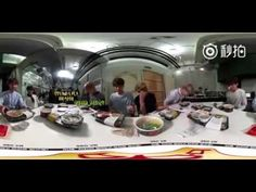 BTS EATING BBQ CHICKEN