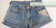 DIY: Short jeans com spikes - www.nopreach.com