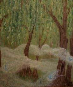 willows and will o' the wisp