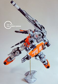 Custom Build: 1/100 FA-78-1 Full Armor Gundam (Light Type Ver.) - Gundam Kits Collection News and Reviews