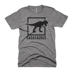 Dadasaurus Shirt Dada Saurus Gift For Dad Fathers Day T-Shirt Dinosaur Shirt Unisex Triblend Graphic Tee Dinosaur Shirt, Dinosaur Dinosaur, Dinosaur Party, Mothers Day T Shirts, Unisex Fashion, Shirt Shop, Gifts For Dad, Cool Style, Graphic Tees