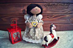 Szmatka i kordonek : Mały aniołek http://szmatkaikordonek.blogspot.com