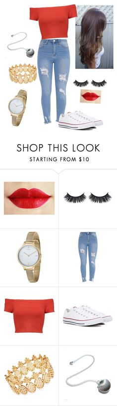 """concerto cnco"" by danny-533 on Polyvore featuring Battington, Fjord, Alice + Olivia, Converse and INC International Concepts"