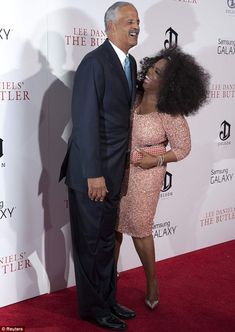 Her rock: Oprah credits fiance Stedman Graham for helping her through the difficult time Black Celebrity Couples, Black Couples, Black Celebrities, Celebs, Oprah And Stedman, Mississippi, Stedman Graham, Black Love, Powerful Women