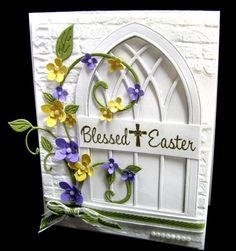 QFTD199   Blessed Easter by GardenDiva - Cards and Paper Crafts at Splitcoaststampers