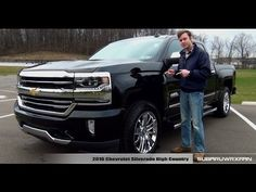 Review: 2016 Chevrolet Silverado High Country - YouTube