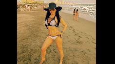 Maribel Guardia presume su cuerpo en bikini en Acapulco [FOTOS]