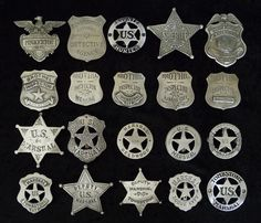 20 BADGES Police, Marshals, Deputy, Sheriff, ) by COOLSTUFFGOODPRICES on Etsy