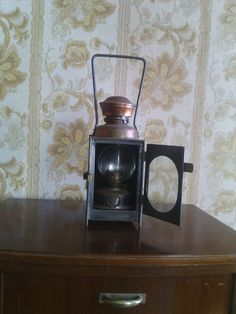 An old lantern that I bought at a Vide Grenier