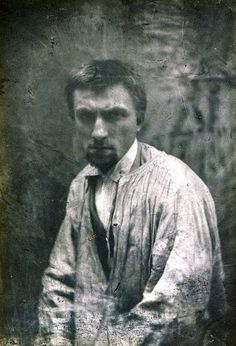Auguste Rodin, Paris, ca 1862 [ab. 22y] -by Charles Hippolyte Aubry
