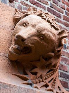 Bear detail, Bistro Vendome, Kettle Arcade, Larimer Square, LoDo, Denver, Colorado. IMG_1959 LR, via Flickr.