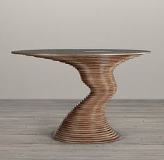 OMG, we've always loved @restorationhardware but the Stack 50 Table is beyond fanstic. More of a sculpture than a table!