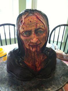 freaking awesome halloween cake