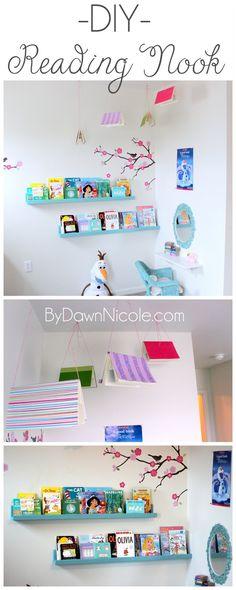 DIY Kid's Room Reading Nook