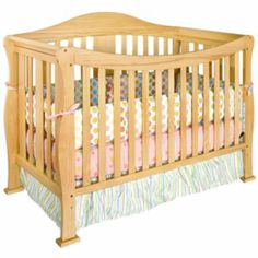 I like the natural/oak look of this crib