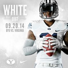 White out - BYU Football 2014 by Dave Broberg