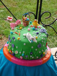 easter cake.  Love this.